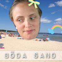 Dagens äventyr: Böda sand #trampbåtar #semester